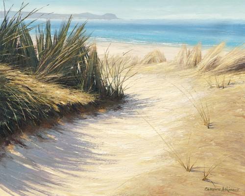 Pathway to the Beach von Caroline Atkinson