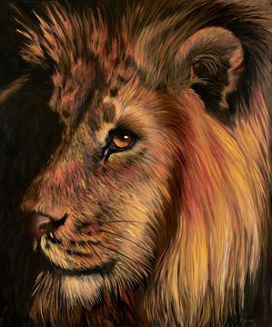 Löwe von Jutta Plath